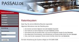 Passau-Ratsinfosys