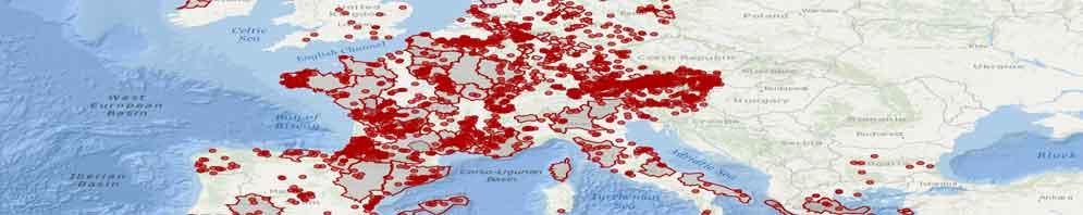 Auf die Karte klicken und die europäischen Kommunen und Kreise gegen CETA anzeigen